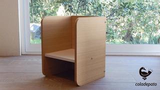 Silla Cubo Montessori Med - 3 Posiciones