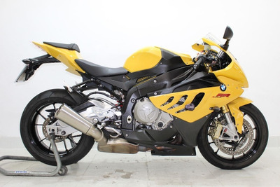 Bmw S 1000 Rr 2011 Amarela