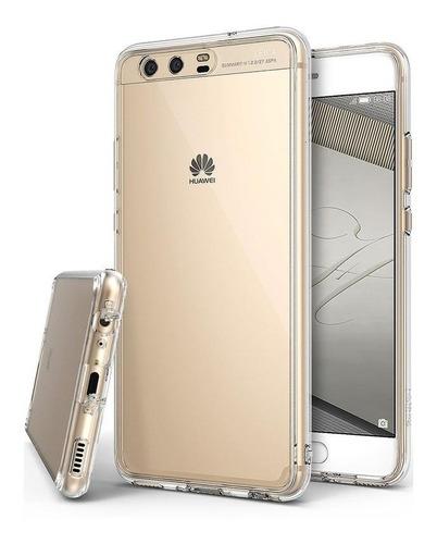 Goma Transparente Bordes Reforzados Para Huawei P9 Plus