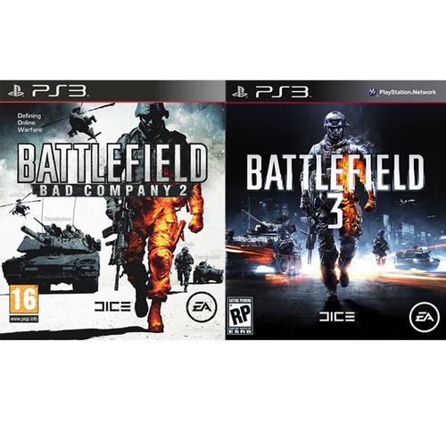 Battlefield 2 + Battlefield 3 Ps3 .: Ordex :.