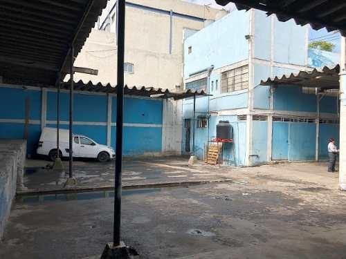 Venta De Terreno Con Locales En La Colonia Agrícola Oriental, Iztacalco