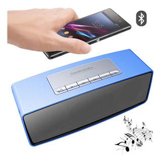 Parlante Portatil Bluetooth S815 Micro Sd Aux Usb Fm