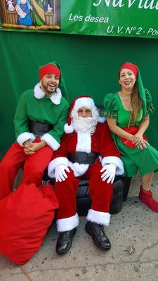 Servicio Viejo Pascuero Fiestas Navidad + Sitial + Toldo