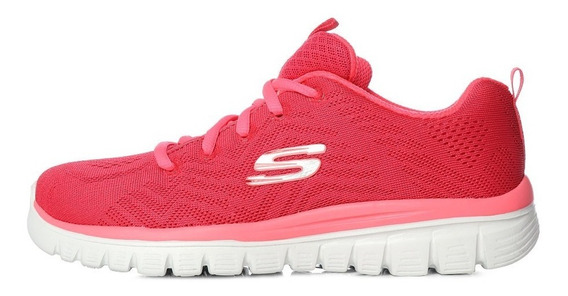 Tenis Skechers Graceful Memory Foam -meses Sin Intereses-