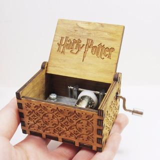 Caixa De Música Manual Harry Potter Madeira