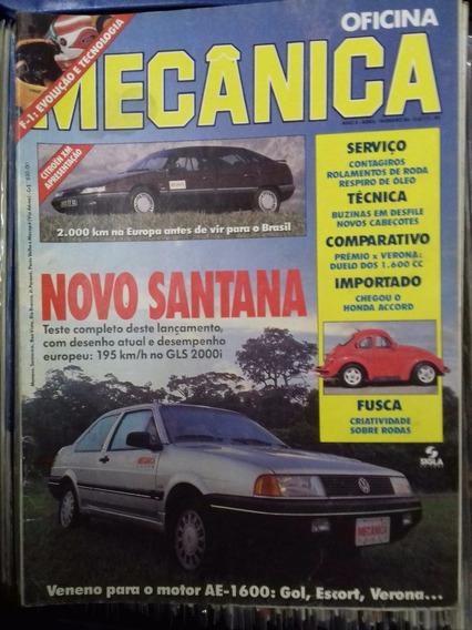 Revista Mecânica Nº 56 - Santana Fusca Citroën Honda Accord
