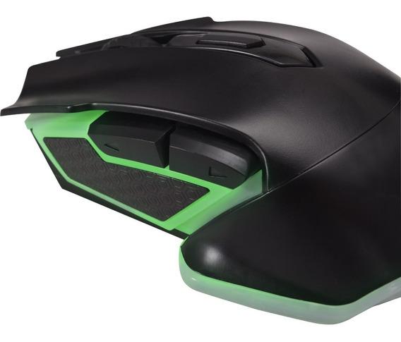 Mouse Gamer Pro M5 Rgb Preto Fortrek Gaming Usb 4800 Dpi