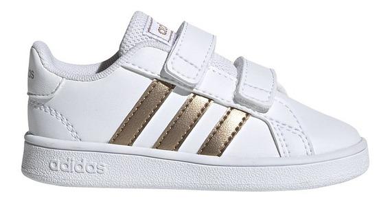 Zapatillas adidas Moda Grand Court I Bebe Bl/br