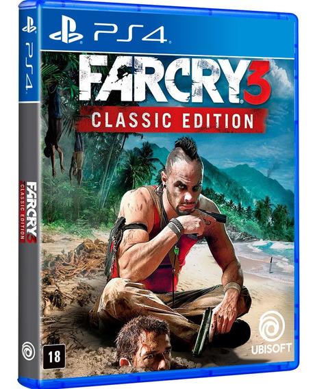 Jogo Far Cry 3 Ps4 Midia Fisica Cd Original Novo Português