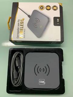 Carregador Sem Fio Wireless I2go Base De Mesa