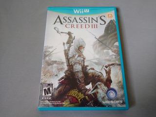 Assassins Creed 3 Original Para Nintendo Wii U