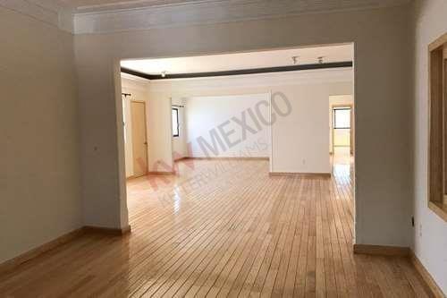 Renta Departamento 262m $70,000 Galileo, Cerca De La Embajada De España, Arquímedes, Campos Eliseos, Reforma.