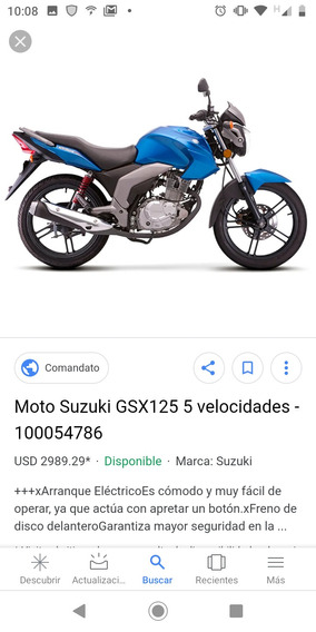 Moto Gsx125