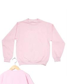 Blusa Rosa Claro Moletom Frio Inverno Moda Masculina Promo