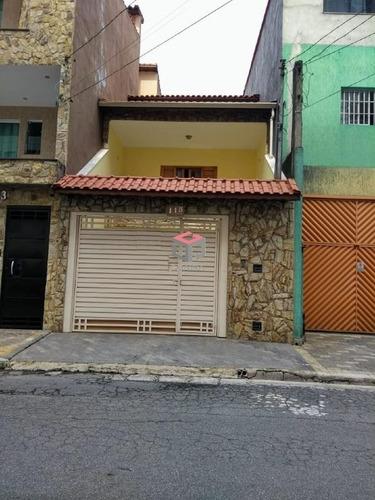 Sobrado À Venda, 2 Quartos, 1 Suíte, 2 Vagas, São Vicente - Mauá/sp - 98722