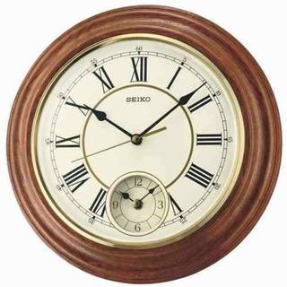 Reloj De Pared Seiko Dual Time Qxa494b | Envío Gratis