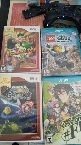 Juegos Wii/ Wii U/ 3ds. Se Permuta También Por Psvita