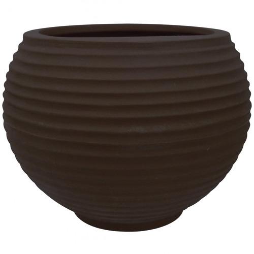 Vaso Para Plantas Redondo Em Polietileno 42 Esfera Jewt