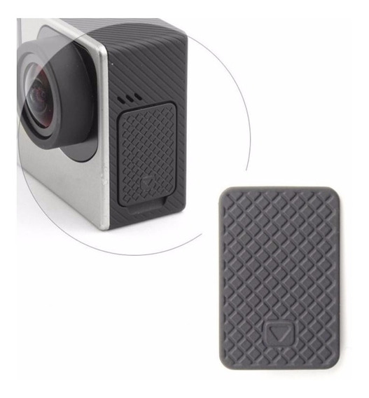 Tampa Cover Lateral Cabo Usb Gopro Hero 3 3+ 4 + Frete 9,90