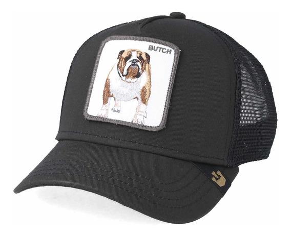 Goorin Bross Gorra Logo Butch Snapback Negro Promoción!