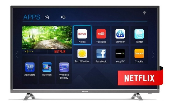 Smart Tv 43 Hyundai Ultra Hd 4k