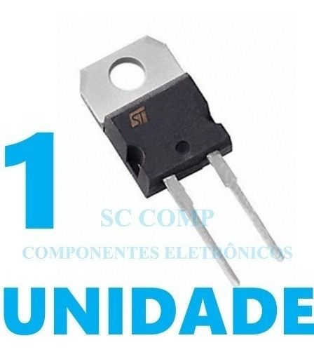 Diodo Retificador Ultra Fast Stth5r06d 5 Amp 600 Volts