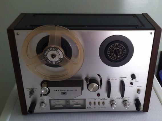 Gravador De Rolo Akai Gx 4000 Db Super Conservado.