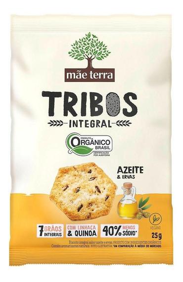 Biscoito Organic Integral Mae Terra Azeite E Ervas 25g