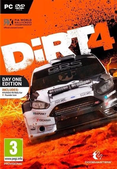 Dirt 4 ( Midia Digital ) Pc