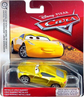 Disney Cars 3 Cruz Ramirez Edição Especial Metálica Mattel