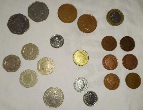 Lote 20 Monedas Reina Elizabeth 2
