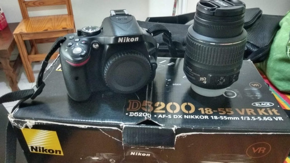 Câmera Dslr Nikon D5200 - Somente Venda