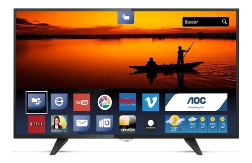 Smart Tv Led 32 Pulgadas Aoc 32s5970s Hdmi Tda Wifi Cuotas