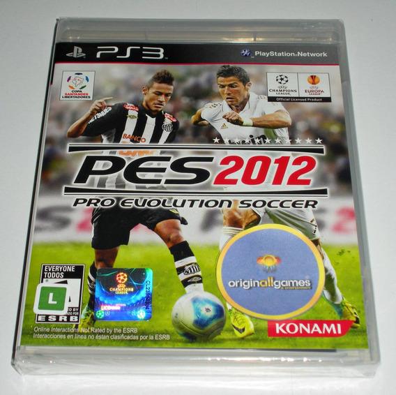 Pes 2012 Pro Evolution Soccer ¦ Ps3 Orig Lacr ¦ Mídia Física