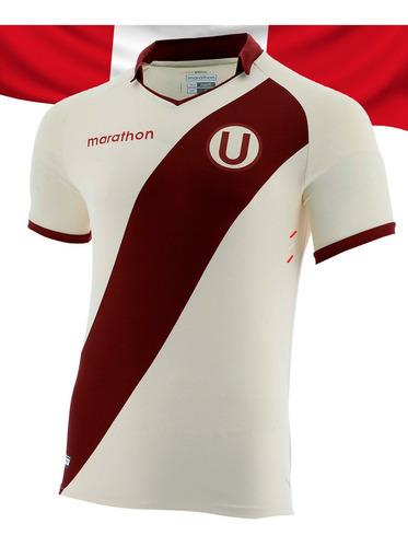 Imagen 1 de 10 de Camiseta Universitario U Deportes Modelo Bicentenario Fútbol