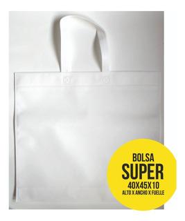 Bolsas Friselina Pack X 100 Lisas 40x45x10 Stock Inmediato!!