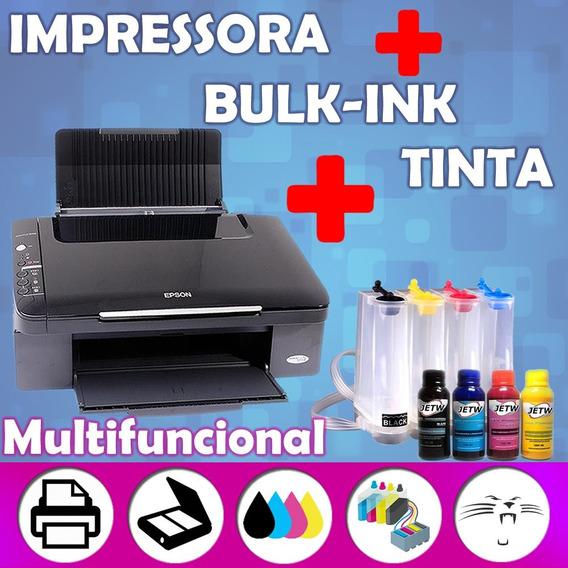 Impressora Multifuncional Sublimação Canecas Estampas Bulk