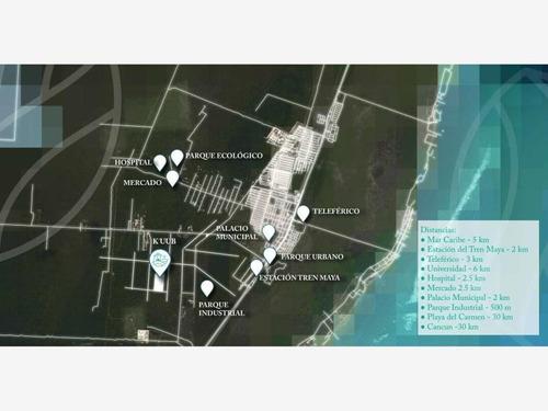 Imagen 1 de 3 de Terreno Comercial En Venta Puerto Morelos