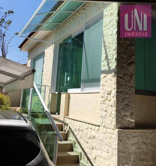 Sobrado Com 2 Dormitórios À Venda, 180 M² Por R$ 890.000 - Parque Das Nações - Santo André/sp - So0533
