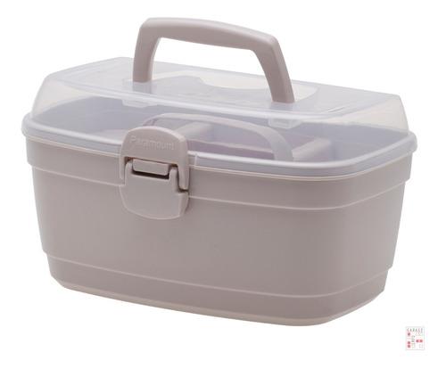 Caja Organizadora Multiuso Con Bandeja 35x24x22 Garageimpo