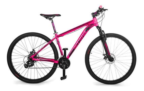 Bicicleta Ontrail Fractal 27.5 Aluminio F.disco 21v Susp.