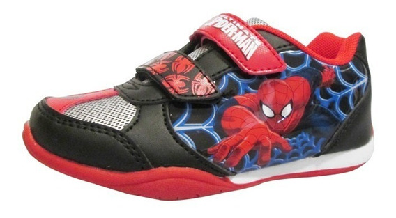 Zapatillas Bebe Atomik Spiderman Hulk Capitan Marvel Abrojo