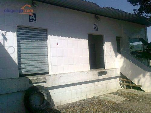 Excelente Galpão 260 M² Com Câmaras Frias Com 1200 M² De Terreno !!! - Ga0098