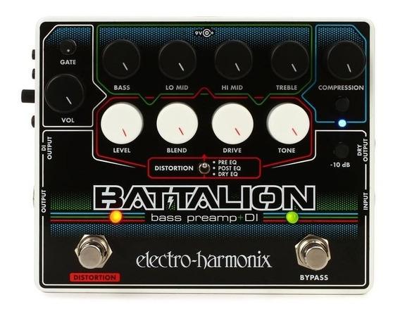 Pedal Ehx Battalion Bass Preamp & Di Electro Harmonix