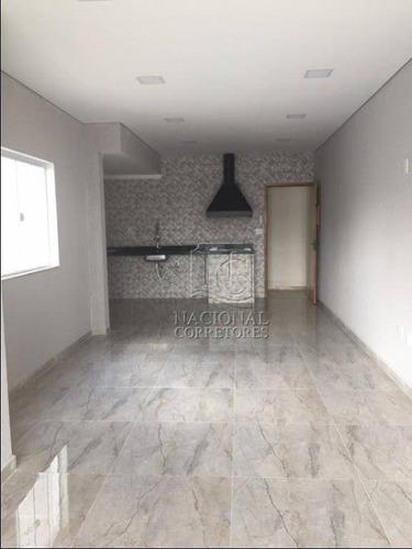 Cobertura À Venda, 140 M² Por R$ 650.000,00 - Parque Das Nações - Santo André/sp - Co4811