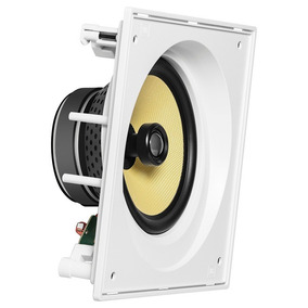 Jbl Ci8sa Caixa Angulada Acústica Embutir Gesso Quadrada Par