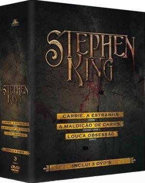 Stephen King - Coleção Mgm - Inclui 3 Dvds