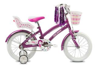 Olmo Bicicleta Tiny Friends R16 Violeta - Thuway
