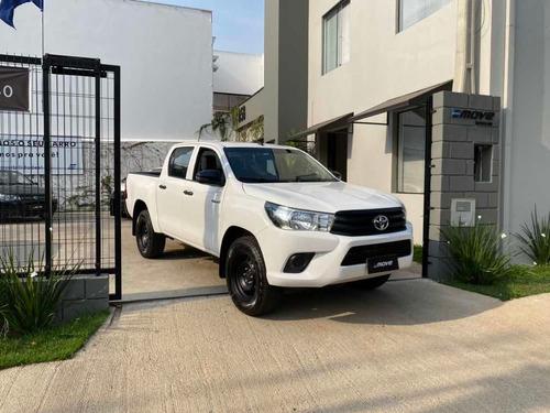Imagem 1 de 10 de Toyota Hilux 2019 2.8 Std Power Pack Cab. Dupla 4x4 Tdi 4p