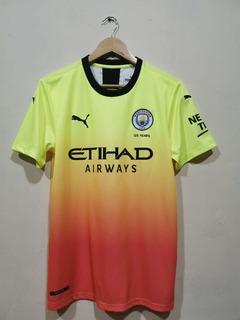 Camisa Manchester City Xl Verde